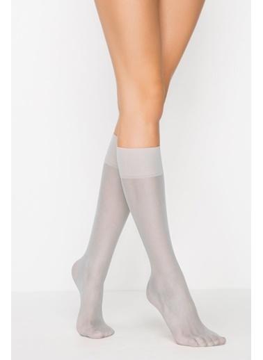 Penti Mat 20 Pantolon Çorabı Gri